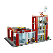 Retired - Factory Sealed - Lego 60004 City Fire Station