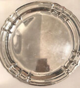 Large 12 Antique Reed Barton Sterling Silver Tray X 596 Newport