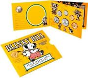 2009 Baby Uncirculated Coin Mint Set Blinky Bill And Unique 1 Dorothy Wall