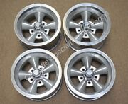 Vintage 14 X 7 Aluminum 5 Spoke Wheels 5 On 4.75 American Racing Gm Chevrolet