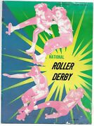 National Roller Derby Official Program And Roster Notes