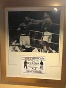 Ali V Frazier Double Duel Signed Action Shot And Fight Info