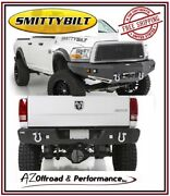 Smittybilt M1 Front 612802 And Rear 614802 Bumpers For 10-12 Dodge Ram 2500 3500