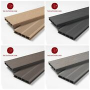 Buy Per M2 - Composite Decking Contemporary Range - 3.60m And 2.90m Boards.