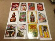 2012 Topps Series 1 Wacky Packages Poster Complete Set All 24 Not Folded Mint