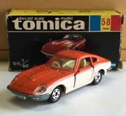 Vintage Tomica Nissan Fairlady Z 240 Zg Black Box Foreign Car Series From Japan