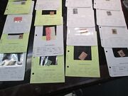 Huge Dealer Stock In Pages 6200 + Cat + Thousands Of Used Mint Stamps