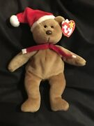 Ty Beanie Baby 1997 Holiday Teddy Bear 6 Errors Mint With Mint Tags Retire