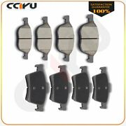 For Volvo C30 C70 S40 V50 Front And Rear Performance Ceramic Discs Brake Pads