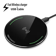 Genuine Qi Samsung Fast Charging Wireless Charger Pad For Galaxy S8 S9 9v 2a