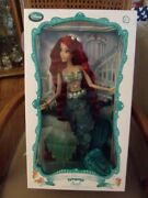Disney Deluxe Ariel Doll 17 Limited Edition