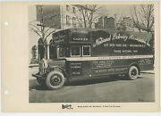 1920's National Delivery Assoc. Moving Truck Sterling Motors Corporation Photo