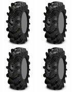 Four 4 Itp Cryptid Atv Tires Set 2 Front 30x9-14 And 2 Rear 30x9-14