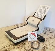 Over 22 Sold Fujitsu Fi6230z Flatbed Scanner W/ Ac Adapter+usb+dvd+tray