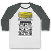 Brass Eye Cake Made Up Drug Also Known As Comedy Tv 3/4 Sleeve Baseball Tee