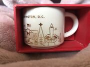 2014 D.c Exclusive Starbucks Christmas Ornament- Discontinued