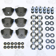 Universal Mounting Hardware Kit With Tabs Raw Aluminum