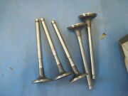 5 New Exhaust Valves 1956-57 Lincoln And 57 Mercury See Description