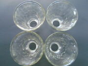 Hampton Bay Ceiling Fan Replacement Globes/shades 4 Hammered Glass