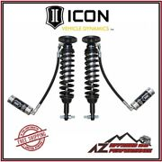 Icon Front Remote Reservoir Coil Over Shock Kit For 2014 Ford F150 2wd