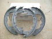 1974 1975 1976 1977 Dodge Truck M880 W200 New Rear Brake Shoes 12x2-1/2 Usa Made