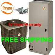 3.5 Ton R-410a 14seer Heat Pump System Condensing Unit / Air Handler With Coil