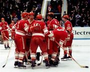 Team Ussr Russia 1972 Summit Series After Game 8x10 Photo