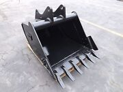 New 36 Ford 655d Backhoe Bucket With Coupler Pins