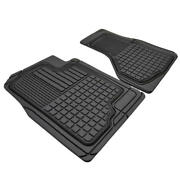 Custom Fit Rubber Floor Mats For Car Suv - Heavy Duty All Weather 2pc