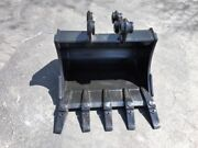 New 24 Backhoe Bucket For A Case Cx36 With Pins