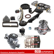 Timing Chain Kit Water And Oil Pump H25a H27a 99-06 Suzuki Chevy 2.5l 2.7l Engine