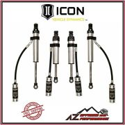 Icon Performance Shock System Stage 3 For 98-07 Toyota Land Cruiser 100 Series