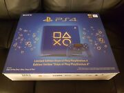 Sony Playstation 4 Days Of Play Limited Edition 1tb Blue Console [ps4] [new]