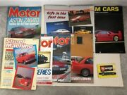 Various Vintage Dream Cars Luxury Sports Cars And Trivia 16 Month Calendar