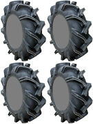 Four 4 High Lifter Outlaw 3 Atv Tires Set 2 Front 38x9-22 And 2 Rear 38x9-22