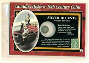 Canadaand039s Historic 20th Century Coin And Stamp Set1912 10ct Coin And 1935 1ct Stamp