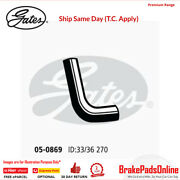 Curved Radiator Hose 05-0869 For Toyota Hilux Surf Mk Ii Fitting Position Lowe