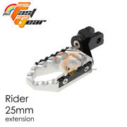 Tfg Wide 25mm Riser Rider Foot Pegs For Triumph Sprint St 1999 2000 99 00