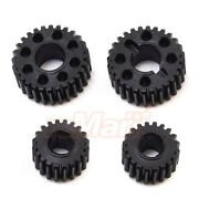 Vanquish Currie Portal Overdrive Gear Set Black For Axial Scx10 Ii Car Vps08353
