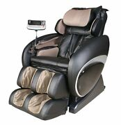 Osaki Os-4000t Black Executive Heated Massage Chair Reclinier W/ Foot Rollers