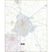 Lexington And Fayette Co Ky Wall Map