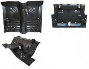 Body Kit Front Floor Under Rear Seat And Trunk Pan Cuda 70 E-body Amd