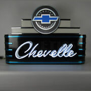 Art Deco Marquee Chevelle Neon Sign 9adcvl W/ Free Shipping