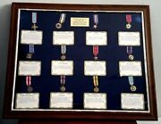 Military Service Medals Collection 36 Medals Diplomat Colonel Usafr Norton Afb