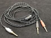 Carbon 3.5mm Pure Silver Cable For Hifiman Oppo Pm1 Hd700 Nighthawk