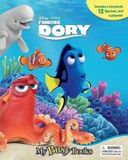 Disney Finding Dory Busy Book W/ 12 Figurines And Playmat - Brand New