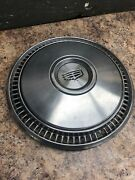Cadillac Hub Cap For A 15 Rim, Used, Stainless Steel