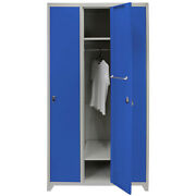 Metal Lockers Steel Staff Storage Lockable Gym Changing Room With Magnets And Keys