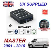 For Renault Master Music Streaming Bluetooth Telephone Charger Sd Aux Cd Module8