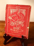 Wright And Ditsonand039s Official Lawn Tennis Guide For 1911